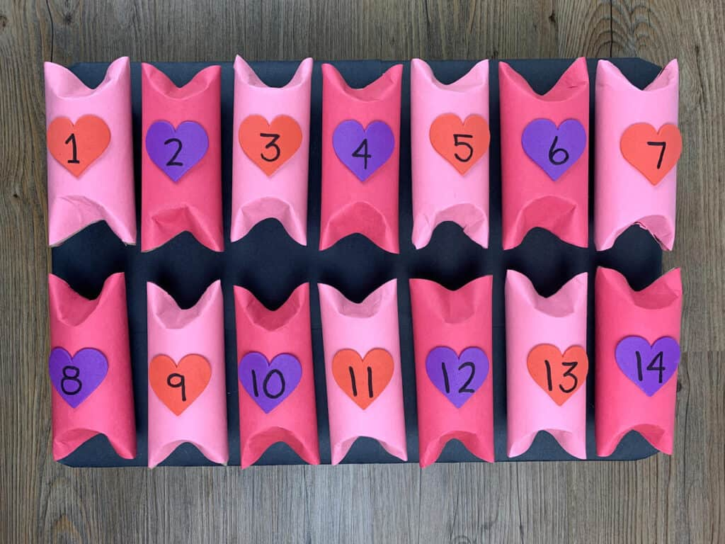Valentines Day Advent Calendar 14 days of love