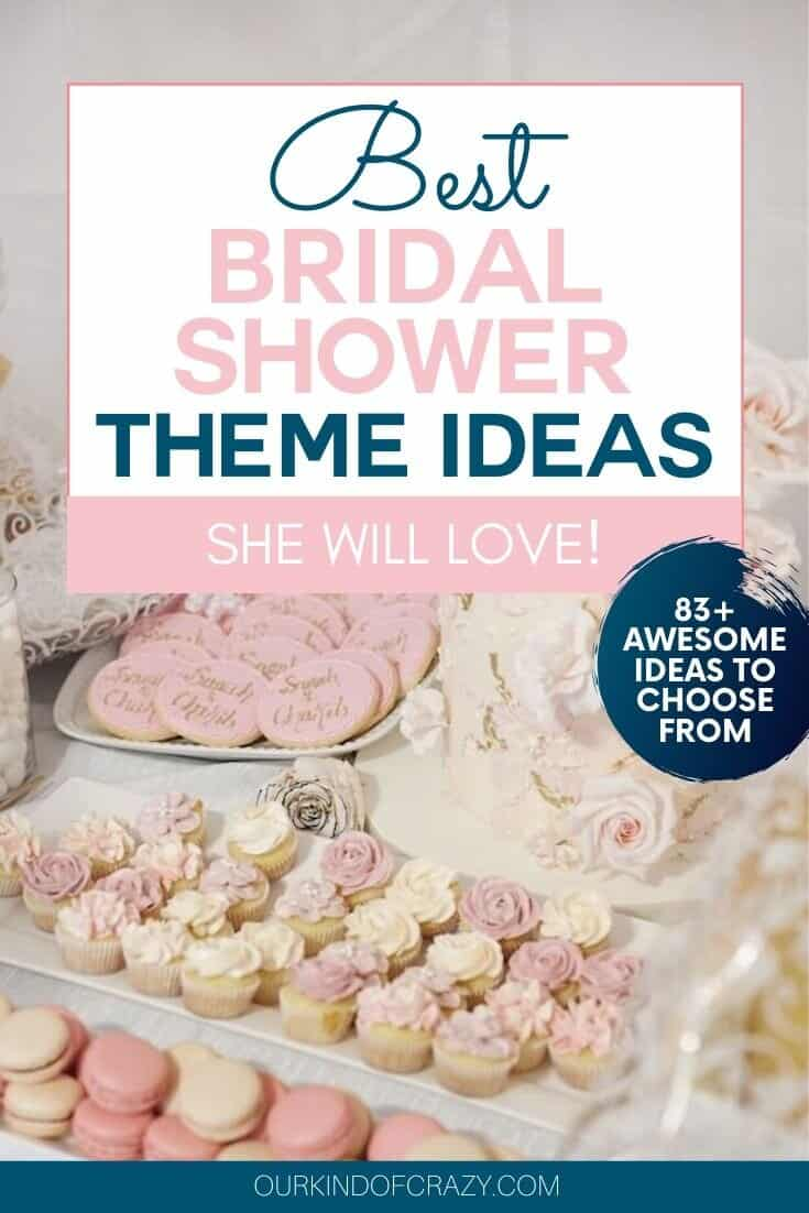 Bridal Shower Themes She Will Love