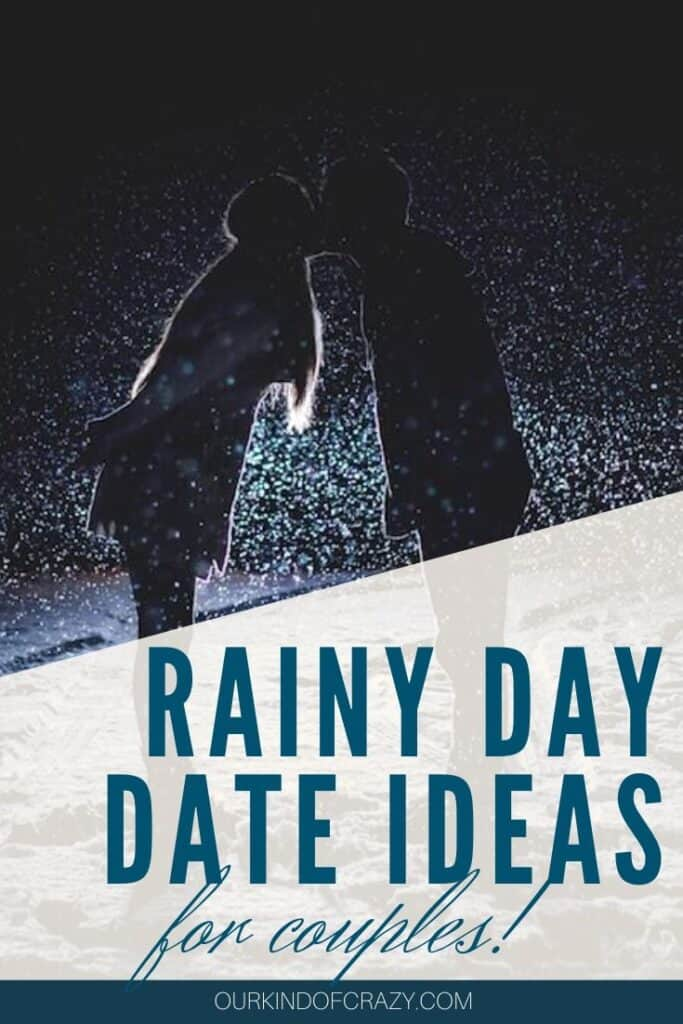 Rainy Day Date Ideas For Couples. These date ideas are perfect things to do on a rainy day for adults. Whether you want to weather the storm or hang out at home, these dates will help you enjoy each other despite the weather. #rainyday #rainydaydateideas #dateideas #athomedateideas