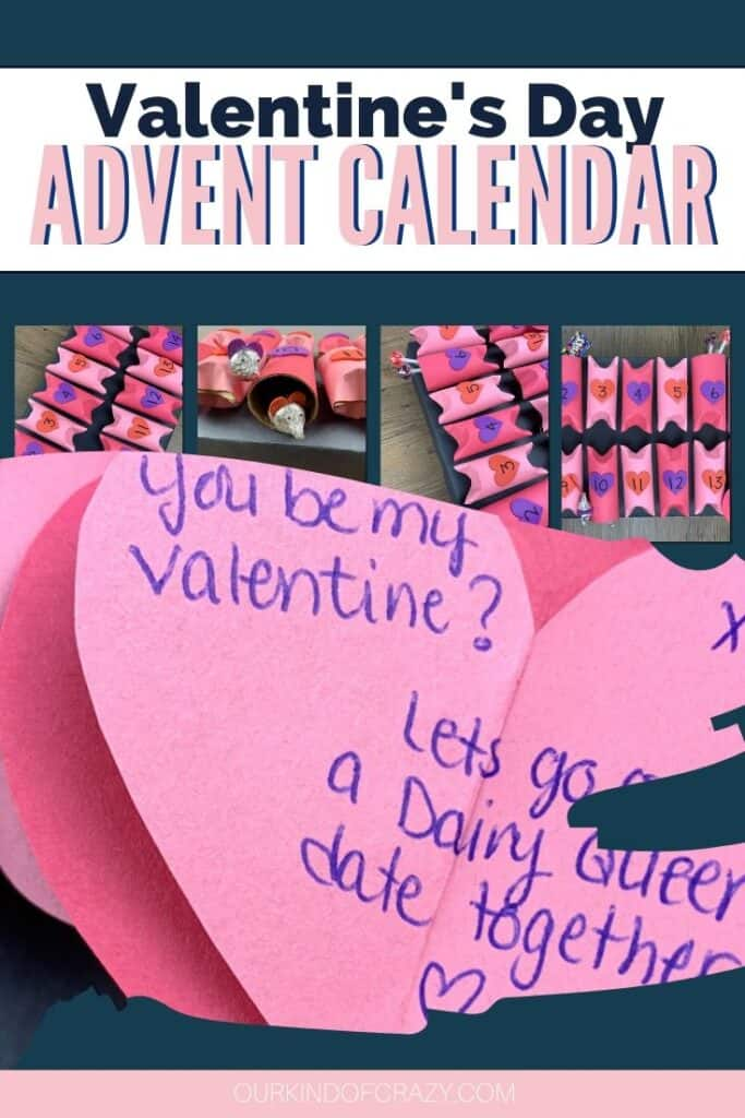 Valentine's Day Advent Calendar - Valentine's Day Gift For Him