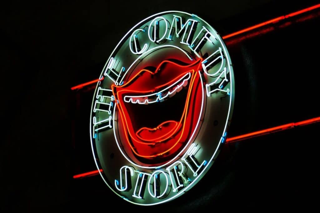 The Comedy Store Neon Sign