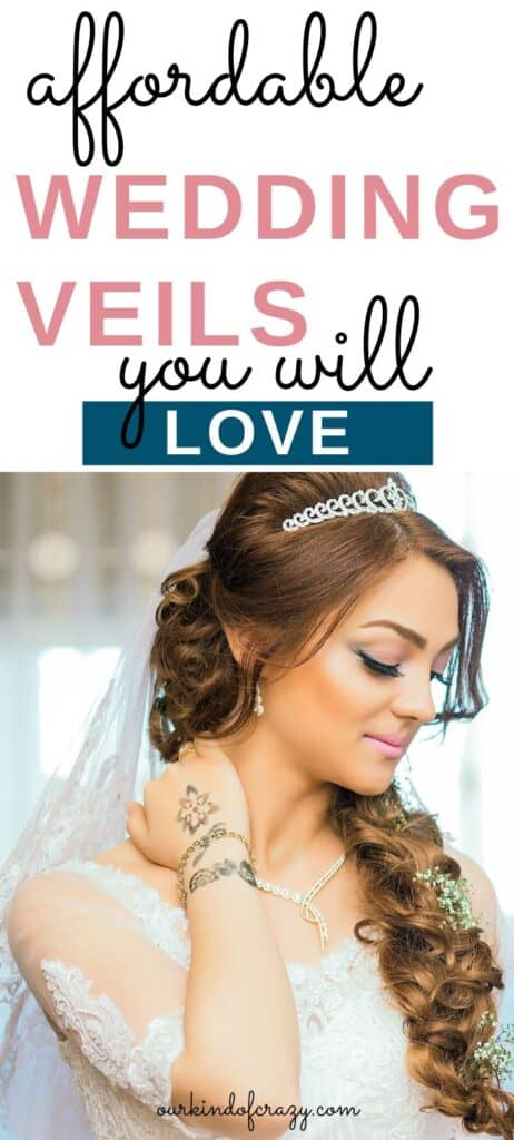 affordable wedding veils you will love
