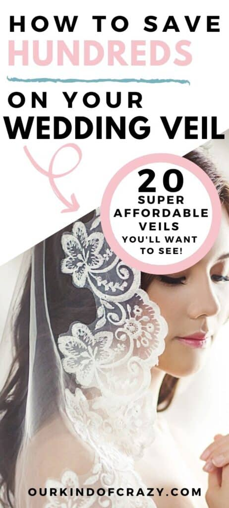 How To Save Hundreds On Your Wedding Veil. 20 Affordable Veils You will want to see!
