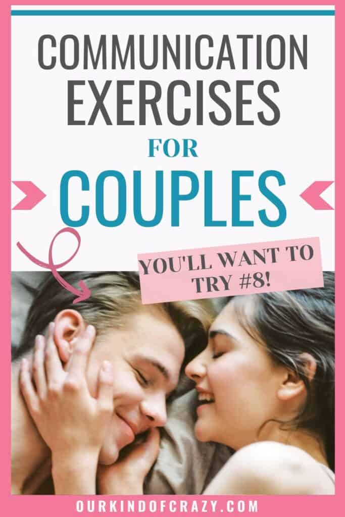 Communication Exercises for couples. You'll want to try #8!