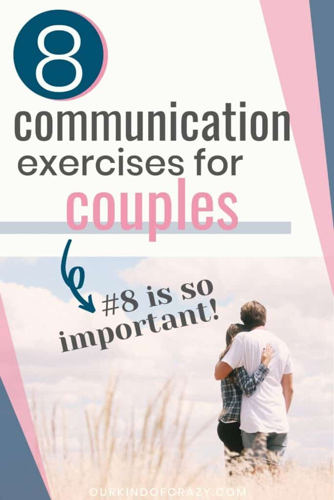 """8 Communication exercises for couples. #8 is so important"""