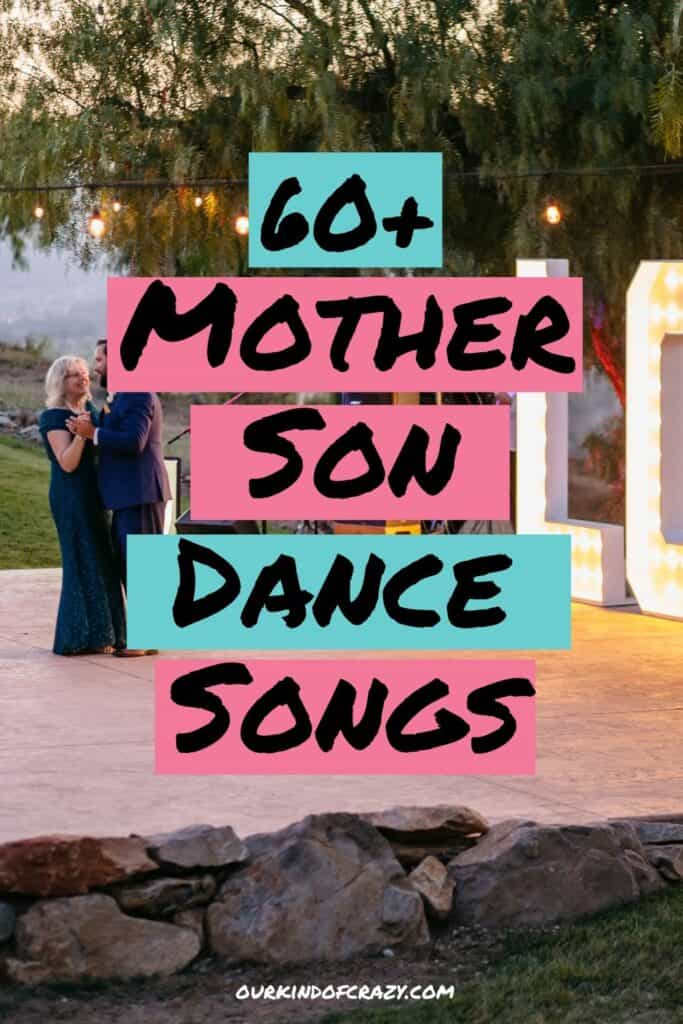 60+ Mother Son Dance Songs