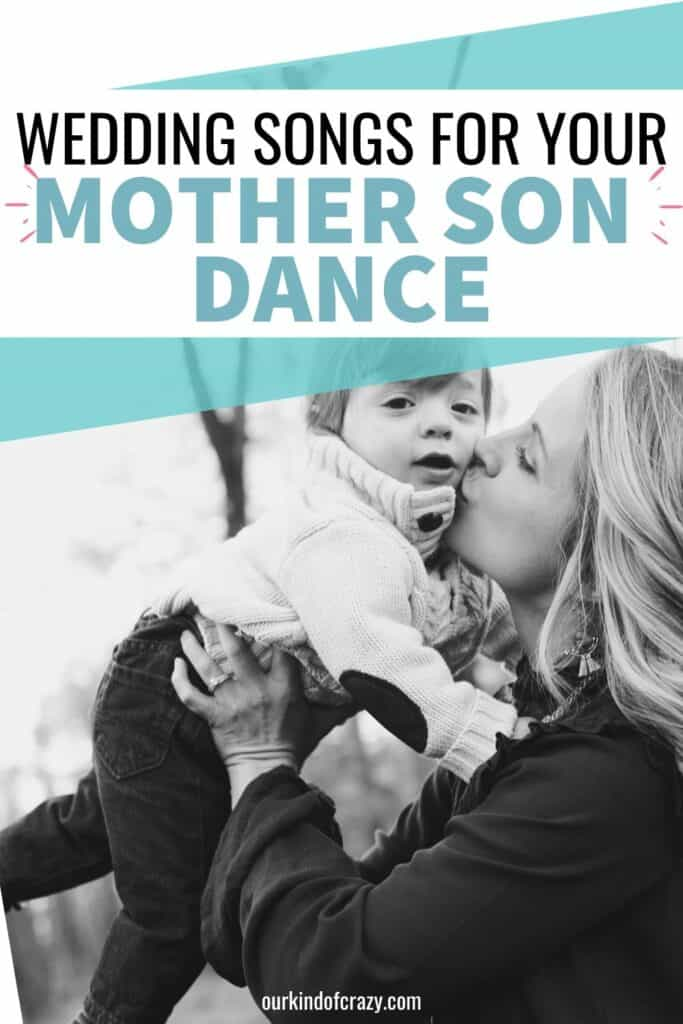 Wedding Songs For Your Mother Son Dance