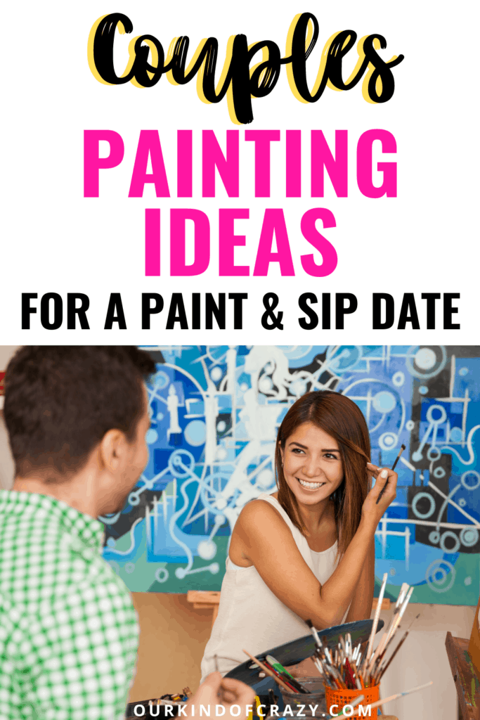 Couples Painting Ideas for a Paint & Sip Date