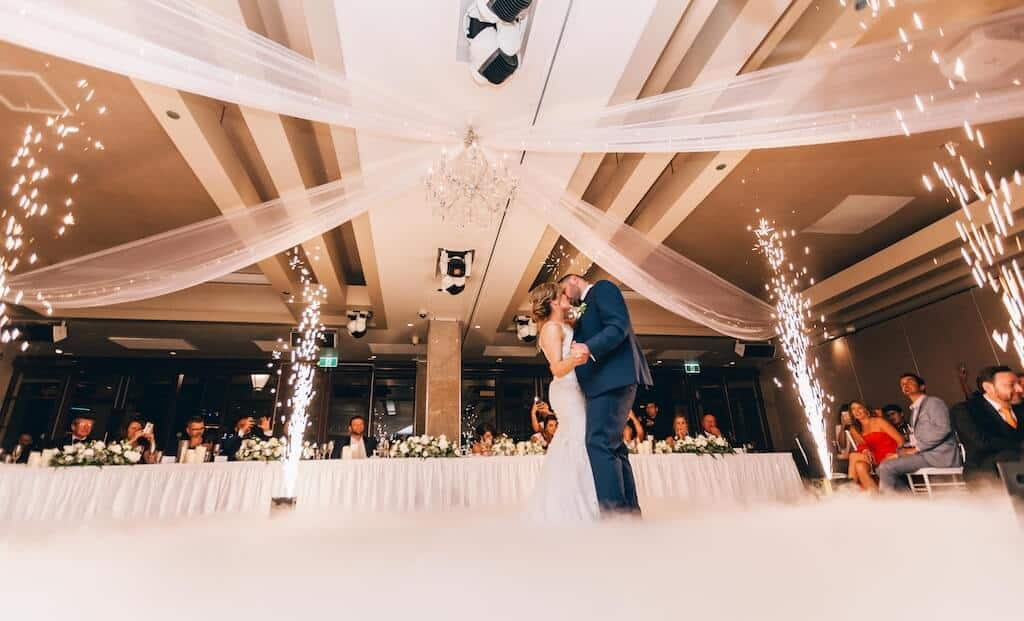 Bride and Groom Dancing To Their First Dance Song